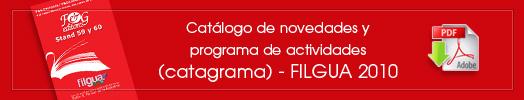 Vea nuestro Catálogo de novedades y programa de actividades (catagrama)